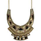 Black Bib Fashion Necklaces & Pendants