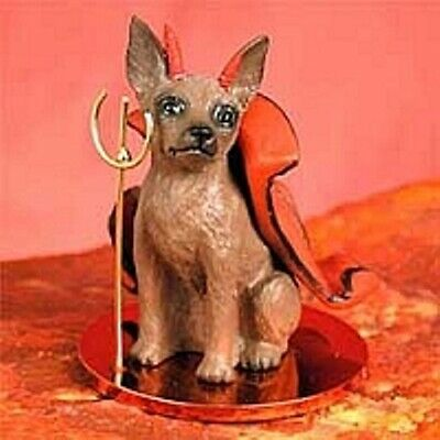 Miniature Pinscher (Red/Rust) Devil 75% of $$$ Sale is for IMPS!