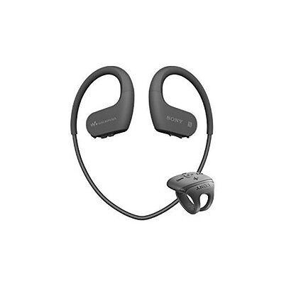 SONY Headphone Integrated Walkman W Series 16GB Black NW-WS625 B Japan new .