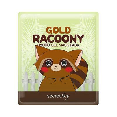 [Secret Key] Gold Racoony Hydro Gel Mask Pack - 1pcs