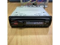sony car stereo cd mp3 45x4 watts