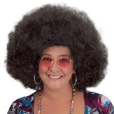 Loftus International Disco Schwarz Afro Perücke Halloween Kostüm-zubehör - Halloween Kostüme Afro Perücke