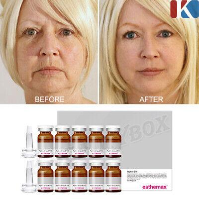 ESTHEMAX Peptide Ampoule 8ml 10ea Revitalizing Ampoule Skin Firming Ampoule NEW