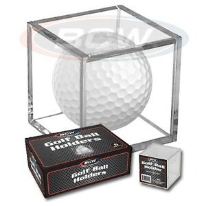 GOLF BALL DISPLAY CUBE SIX PACK