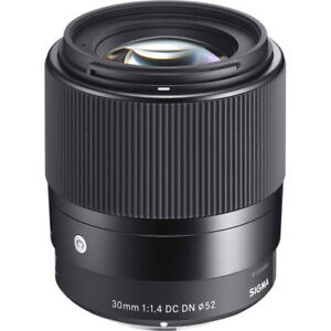 Sigma 30mm f/1.4 DC DN Sony E mount