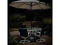 60 LED Solar Parasol Chain Light - Brand New - Kilmarnock Area