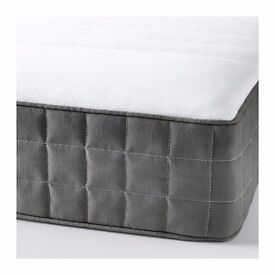 MORGEDAL Foam mattress, Standard single,firm, dark grey(IKEA)
