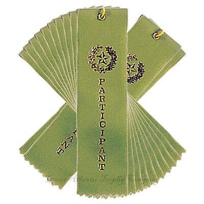 Lot of 25 PARTICIPATION AWARD RIBBONS String & Card](Participant Ribbon)