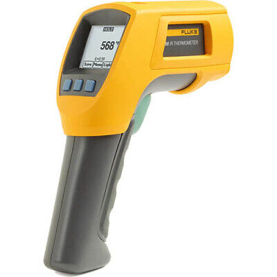 Fluke 568 Ir And Contact Thermometer -40-1472f Range 501 Ratio