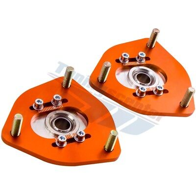 Pillow Ball Mounts (Pair Pillow ball Camber Plate S13 S14 S15 For Nissan 240SX  Front Top)