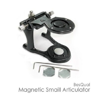 Dental Lab Small Magnetic Articulator Dentist Comes W Magnetic Disc
