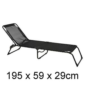 NEW-Portable-Folding-Lounge-Chair-Sun-Bed-Outdoor-Pool-Beach-Camping-Foldable