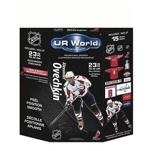 UR World Reusable Mini Graphics NHL Alexander Ovechkin 15PCS