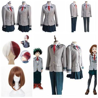 My Hero Academia OCHACO URARAKA Cosplay YAOYOROZU MOMO Kostüme School Uniform