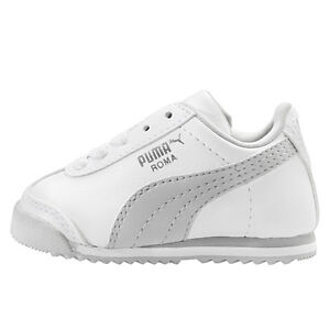 PUMA ROMA BASIC (TD) TODDLER Baby Boys Shoes Sneakers White SIZE 5