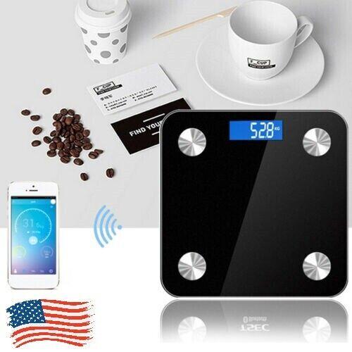 Electronic Smart Digital Bathroom Weight Fat Scale Body 180K