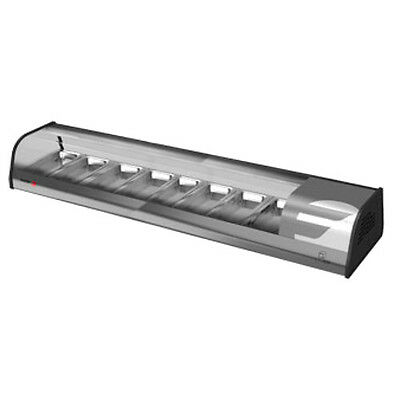 Fagor Vtp-139sl 54-78 Countertop Refrigerated Sushi Display Case