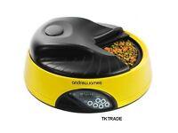 Andrew James 4 Day Automatic Pet Feeder cat feeder/small dog feeder/rabbit feeder