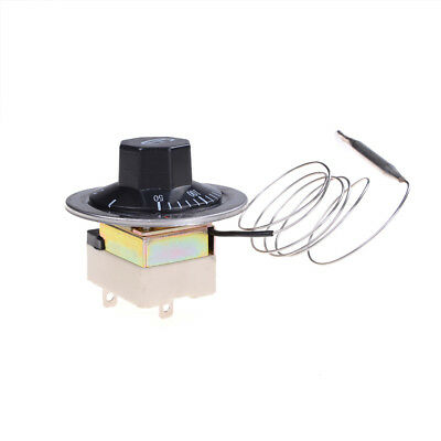 Ac 220v 16a Thermostat Temperature Control Switch For Electric Oven 50-300c Gq