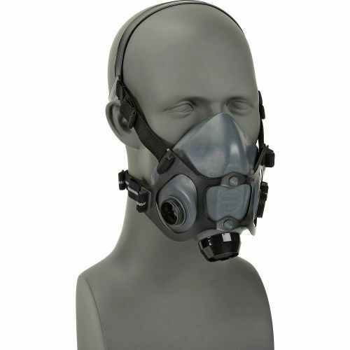 North By Honeywell 5500 Series Half Face Respirator, 5500-30L, Size: LARGE