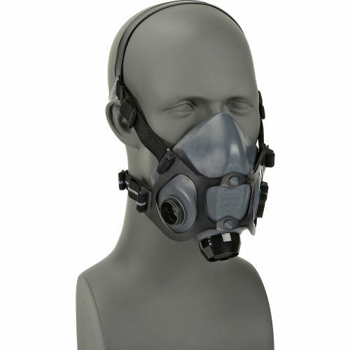 North By Honeywell 5500 Series Half Face Respirator, 5500-30S, Size: SMALL Business & Industrial