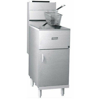 Pitco Frialator 40s Commercial Gas Fryer - Economy 40-45 Lb. Oil Capacity Lp