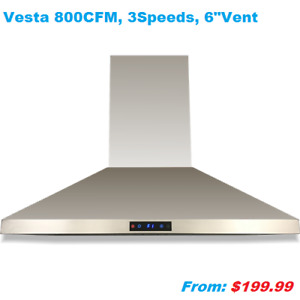 Clearance! Open box range hood, Tel:905-480-0556,905-604-8865