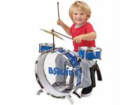 CHILDS TOY DRUM KIT
