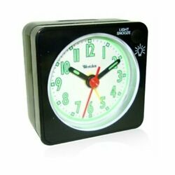 Westclox O158642 47370 Quartz Analog Clock Black