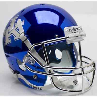 KENTUCKY WILDCATS Schutt AiR XP Full-Size REPLICA Football Helmet (BLUE (Blue Replica Football Helmet)