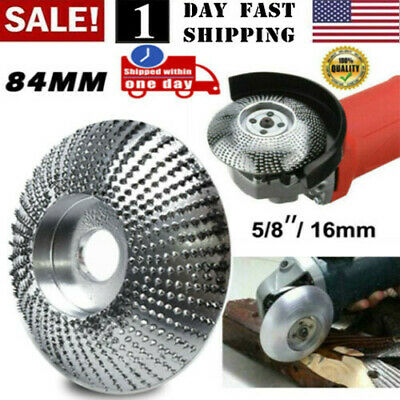 Us Carbide Wood Sanding Carving Shaping Disc For Angle Grinder Grinding Wheel