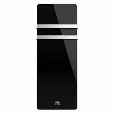 Toallero electrico CECOTEC Ready Warm 9880 Crystal Towel / cristal negro /...