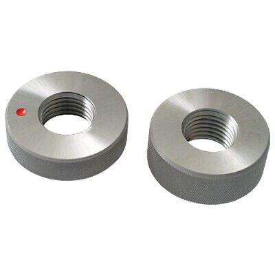 M6 X 1.0 6g Thread Ring Gage Go-nogo 4101-1206