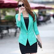 Womens Blazer Suit Jacket