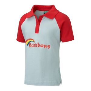 RAINBOWS UNIFORM GIRLS POLO SHIRT HOODED TOP BOTTOMS PANTS SHORTS BRAND NEW