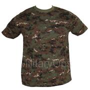 Mens Army T Shirt