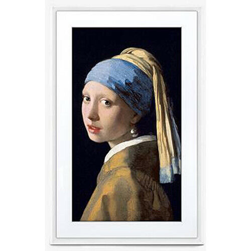 """Meural MC321WL-100PAS 21.5"""" Canvas II Digital Art Frame, White"""