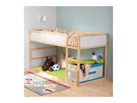 IKEA kura kids reversible bed