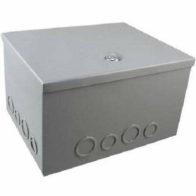 BUD Steel NEMA 1 Sheet Metal Box Electrical Enclosure Project 8x10x6