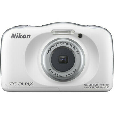 NIKON COOLPIX W150 13.2MP WATERPROOF POINT & SHOOT DIGITAL CAMERA 26530 WHITE