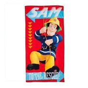 Fireman Sam Towel