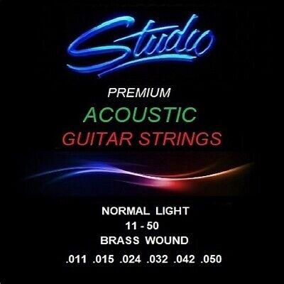 ACOUSTIC GUITAR STRINGS - STUDIO PREMIUM STRINGS - NORMAL LIGHT 11-50
