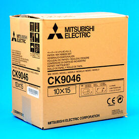 "Mitsubishi CK9046 paper and ink roll / 600prints, 4""x 6"" /"