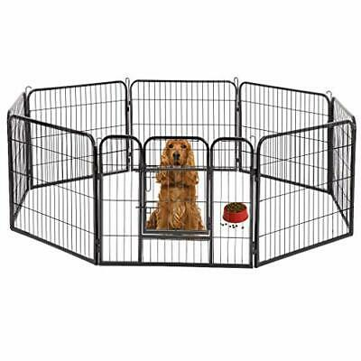 Indoor & Outdoor Huge Heavy Duty Pet Exercise Fence Pen for Small Dogs & Cats Dog Pens For Outside