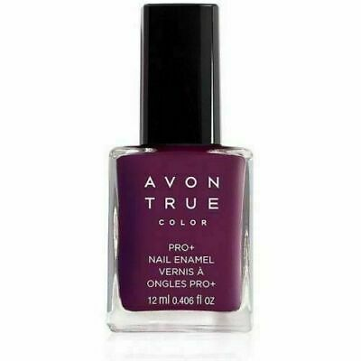 Avon True Color Pro+ Nail Enamel - *MIDNIGHT PLUM* Polish - New - FREE SHIPPING