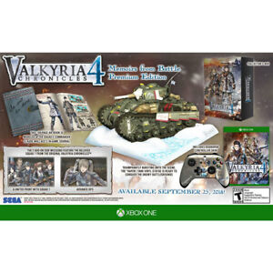Xbox One Valkyria Chronicles 4 Premium addition