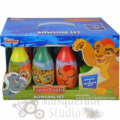 Disney The Lion Guard Bowling Set Toy Gift Set For Boys Kids