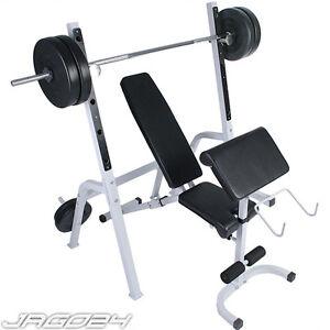 Panca-pesi-palestra-fitness-multifunzione-bilanciere-con-portabilanciere