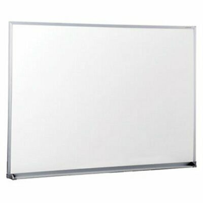 Universal Melamine Whiteboard 48in X 36in Satin Aluminum Frame Unv43624