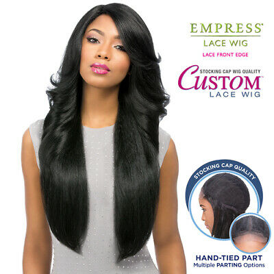 Sensationnel Synthetic Lace Front Wig Empress Edge Custom Lace Perm